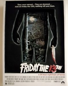 *COLLECTOR'S ITEM* Friday the 13th 3D movie poster